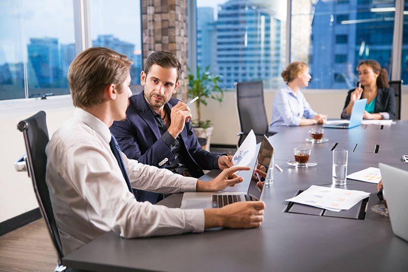 Trabajar con un asesor financiero